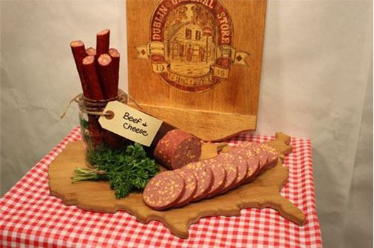 Picture of Beef & Cheddar Cheese Sticks 3/4 lb