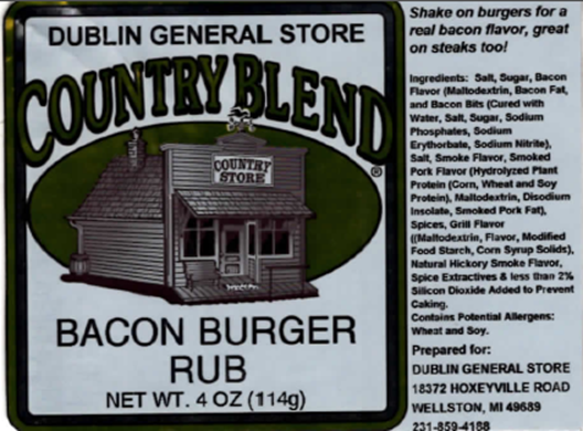 Picture of Bacon Burger Rub 4-4.5 oz