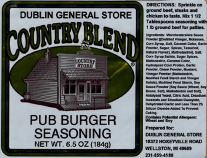 Picture of Pub Burger Seasoning 6.5 oz