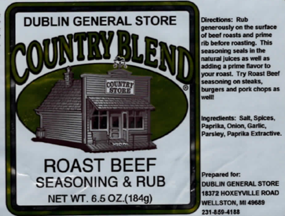 Picture of Roast Beef Seasoning and Rub 6.5 oz