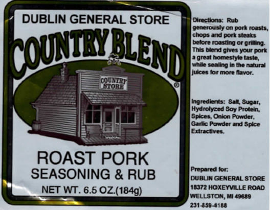 Picture of Roast Pork Seasoning and Rub 6.5 oz