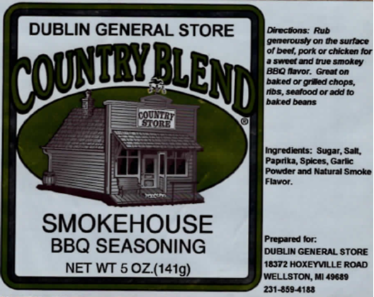 Picture of Smokehouse BBQ Seasoning 5 oz