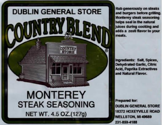 Picture of Monterey Steak Seasoning 4-4.5 oz