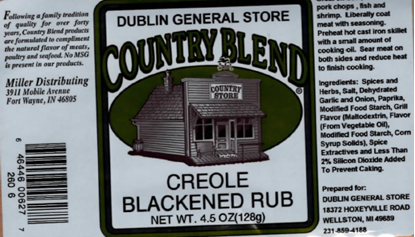 Picture of Creole Blackened Rub 4-4.5 oz