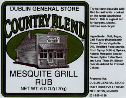 Picture of Mesquite Grill Rub 6 oz