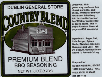 Picture of Premium Blend BBQ Seasoning 6 oz