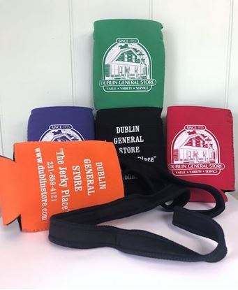 Picture of Collapsible Koozie w/ Neck Strap