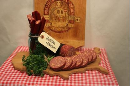 Picture of Venison & Cheddar Cheese Summer Sausage 1.5 lb