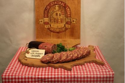Picture of Venison Jalapeno Cheese Summer Sausage 1.5 lb
