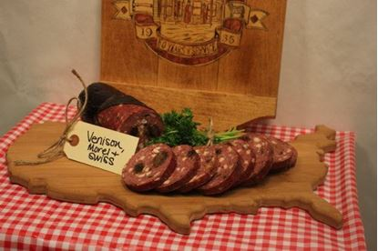 Picture of Venison with Morels & Swiss Summer Sausage 1.5 lb