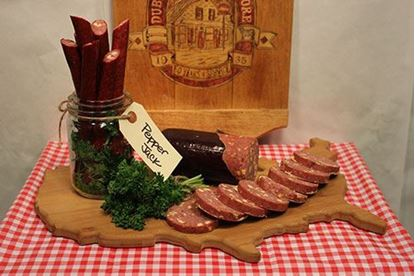 Picture of Pepper Jack Beef Summer Sausage 1.5 lb