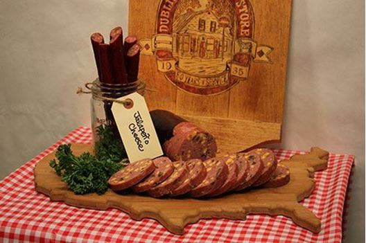 Picture of Jalapeno & Cheddar Cheese Summer Sausage 1.5 lb