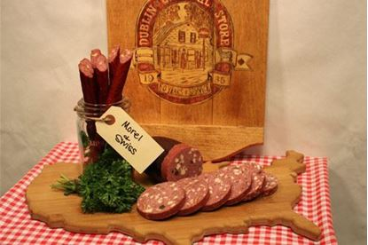 Picture of Beef with Morels & Swiss Summer Sausage 1.5 lb