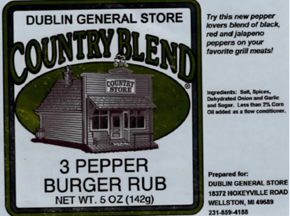 Picture of 3 Pepper Burger Rub 5 oz