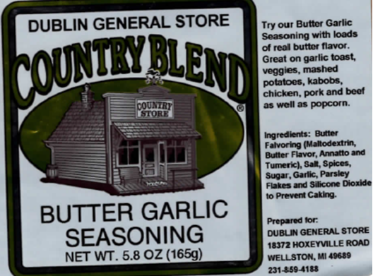 Picture of Butter Garlic Seasoning 5.8 oz