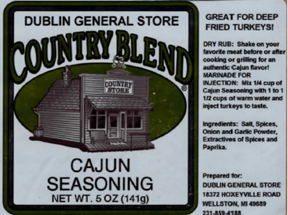 Picture of Cajun Seasoning 5 oz