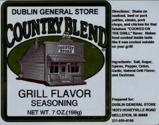 Picture of Grill Flavor Seasoning 7 oz