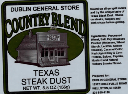 Picture of Texas Steak Dust 5.5 oz
