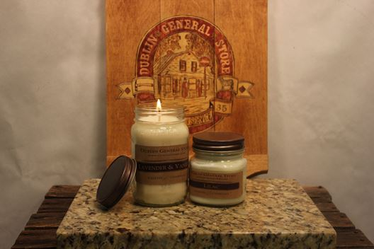Picture of Lavender & Vanilla Soy Candle