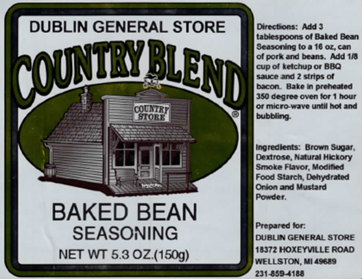 Picture of Baked Bean Seasoning 5.3 oz