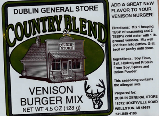 Picture of Venison Burger Mix 5.5 oz