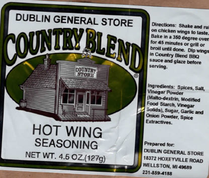 Picture of Hot Wing Seasoning 4-4.5 oz