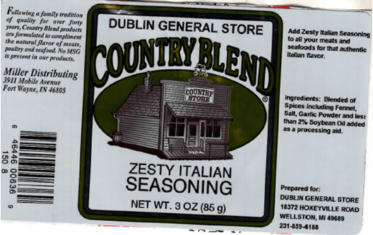 Picture of Zesty Italian Seasoning 3 oz