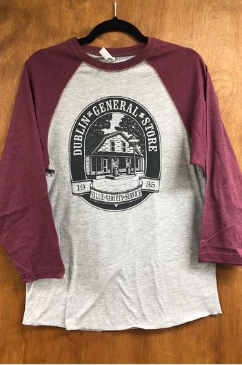 Picture of Size Large Burgundy Tee
