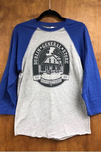 Picture of Size Large Blue Tee