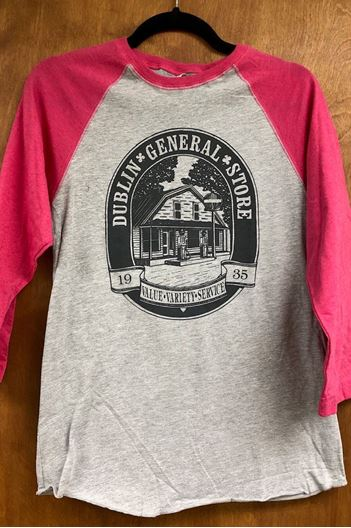 Picture of Size Large Hot Pink Tee